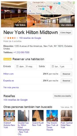 posicionamiento en google maps sevilla