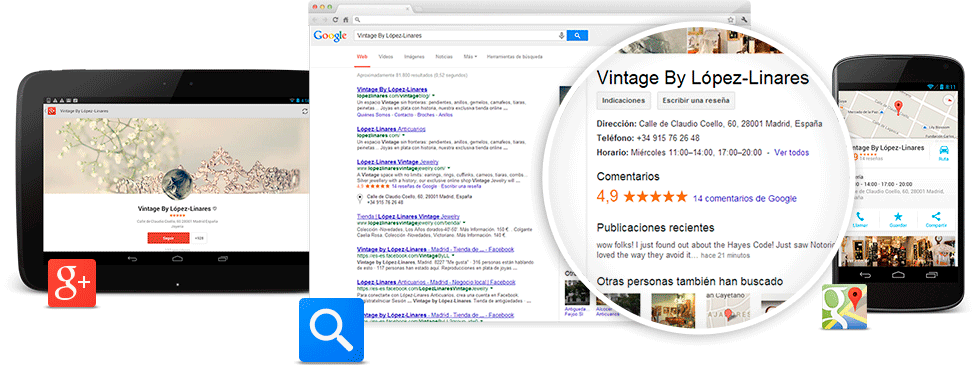Geolocalización con Google My Business