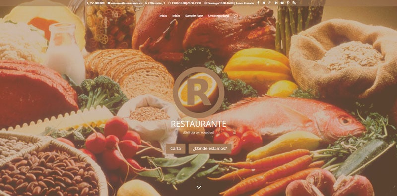 Añadir más iconos al menú superior de Divi