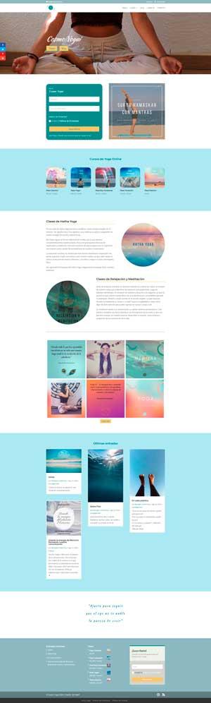 Diseño web cosmoyogui